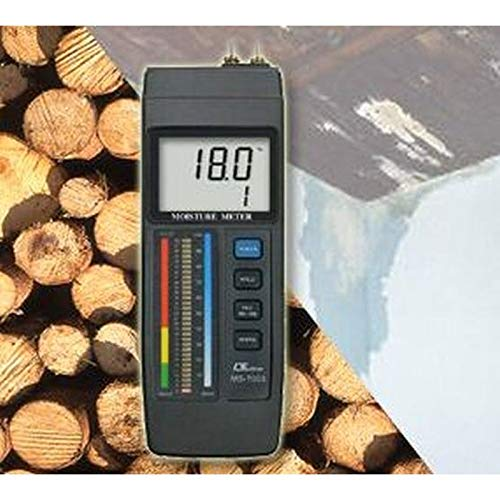 Bouwverlichtingsmeter vochtmeter hout beton vloerbedekking baksteen MS-7003 F11