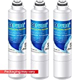 ICEPURE DA29-00020B Replacement Samsung Refrigerator Water Filter, Compatible DA29-00020A/B, RF28HMEDBSR, RF28HFEDBSR, RF263BEAESR, RF263TEAESG, RF28HDEDBSR, HAF-CIN, RF4287HARS, DA97-08006A, 3PACK