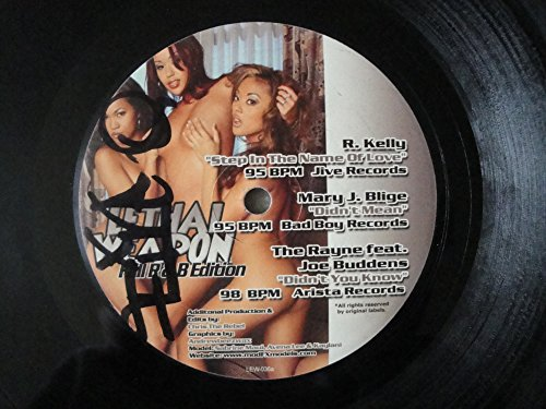 Lethal Weapon 2003 Fall R & B Edition Strictly Hits Vinyl Service LEW-036 with Erykah Badu 'Danger', 112 feat. Supercat 'Na Na Na' Teedra Moses feat. Jadakiss 'You'll Never Find', R. Kelly, Mary J. Blige, The Rayne...
