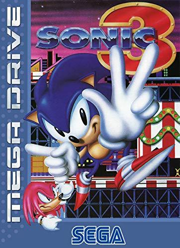 ELITEPRINT Póster de Sonic The Hodgehog 3 SEGA Mega-Drive Classic Retro A3...