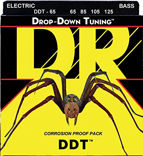 DR Strings DDT Bass Guitar Strings (DDT-65)