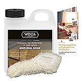 Woca Holzbodenseife natur 5 Liter inkl. Baumwollmop und Pflegeanleitung