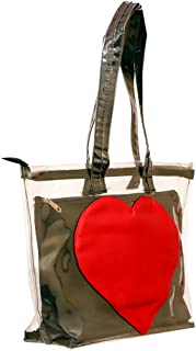 SuiDhaga Hand Bag Transparent With Pouch