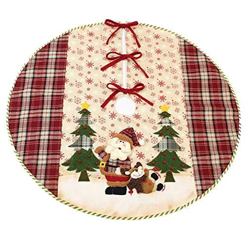 SIDCO Christbaumdecke Tannenbaumdecke Weihnachtsbaumdecke Tannenbaum Matte Weihnachten