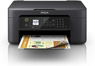 Epson WorkForce WF-2810DWF - Impresora multifunción de inyección de tinta 4 en 1 (impresora, escáner, copia, fax, WiFi, dúplex, cartuchos individuales, DIN A4), color negro