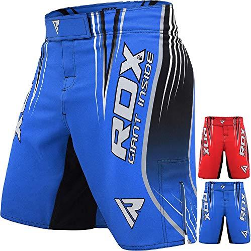 RDX MMA Shorts Kampfsport Ausbildung Kurze Boxen Freefight Sporthose Kickboxen Fightshorts (MEHRWEG)