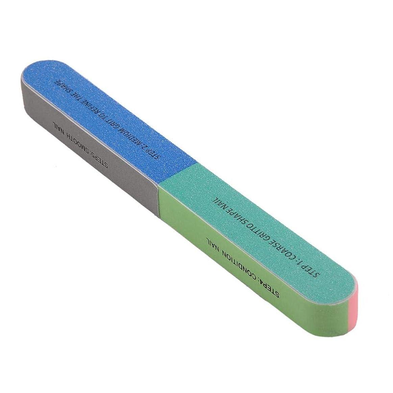 スカープホーントークSILUN 爪やすり多面も使える 爪ヤスリ プロのネイルツール 多機能 ネイルファイル ユニセックス 爪磨きネイルファイル