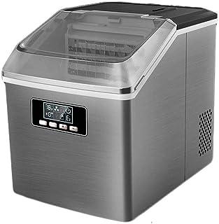 Machine à glaçons en acier inoxydable Comptoir de la machine à la machine, 12-20 minutes de sortie de glace rapide, 24 gla...