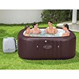BESTWAY 54173 - Spa Hinchable Lay-Z-Spa Maldives Para 5-7 personas Cuadrado