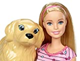 Zoom IMG-1 barbie bambola veterinaria con cagnolina