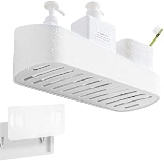 adhesive shower caddy