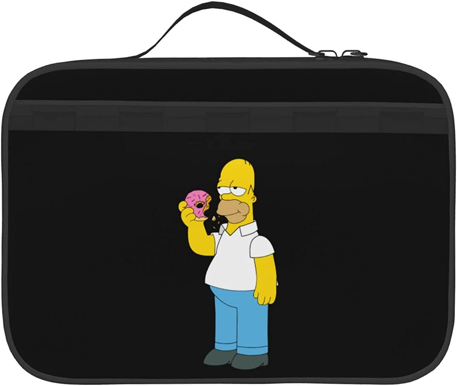 Simpson_Father Two-Side Printed Insulated Cheap sale Bag Limited time for free shipping For Lunch Outdoor