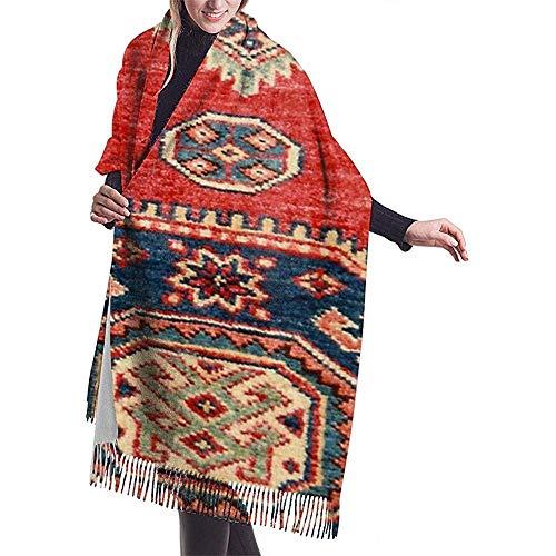 Elaine-Shop Imitar Cachemira Bufanda de invierno Pashmina Chal Wraps Manta Bufandas Envoltura...