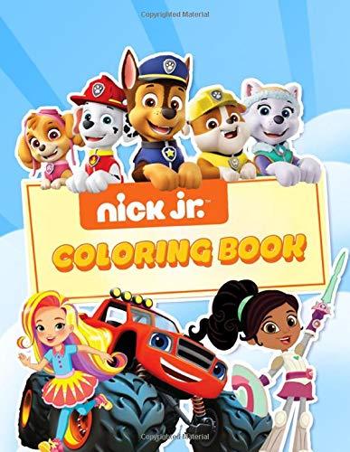 nick jr coloring book - 2