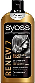 Syoss Renew 7 Complete Repair Shampoo 500 ml