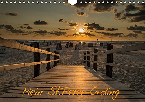 Mein St.Peter-Ording (Wandkalender 2019 DIN A4 quer): St.Peter-Ording an der Nordsee (Monatskalender, 14 Seiten ) (CALVENDO Orte)