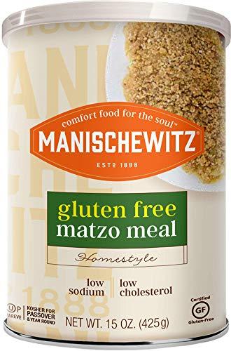 Manischewitz Matzo Meal - Kosher For Passover - Gluten Free Matzah Meal, 15 Ounce (Single)