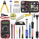ETEPON Kit Soldador Estaño 30 piezas para Trabajos de Soldadura, Eléctrico, Joyería (ET007)