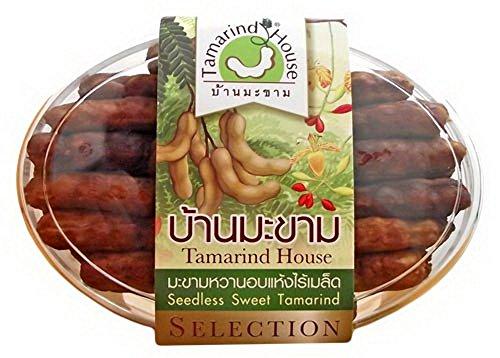 100% Natural Seedless Dried Sweet Tamarind 200 g