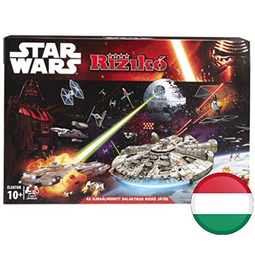 Hasbro Risiko Star Wars Brettspiel - ungarische / Hungary Version - nur in Ungarischer Sprache - KEIN DEUTSCH / NO German