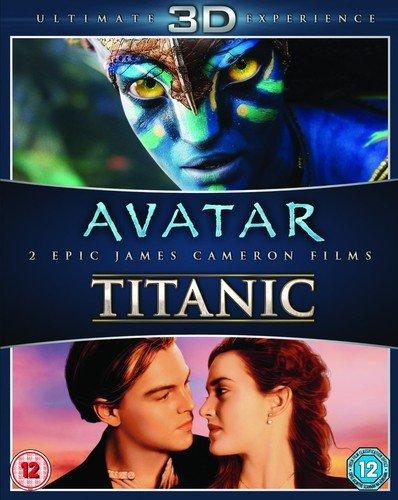 Avatar / Titanic 3D BD [Reino Unido] [Blu-ray]