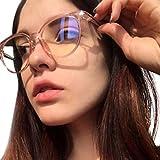 Gafas para Ordenador Anti luz Azul Antifatiga Sin Graduacion Gafas UV Luz Filtro Proteccion Gafas Azul Luz para PC Smartphone TV Gaming Tablet Lectura Video Juegos Lentes Transparente Hombre Mujer
