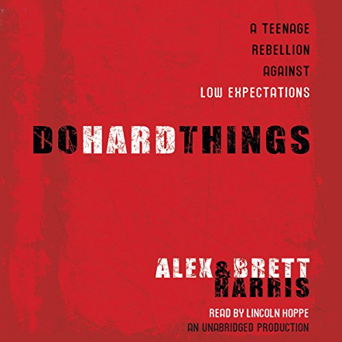 Do Hard Things  By  cover art