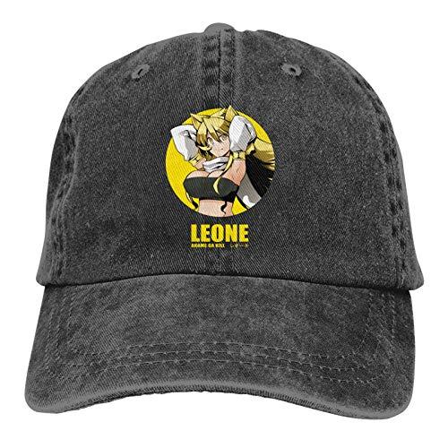 KJAHS Gorras de béisbol unisex Akame ga Kill Leone Vintage Algodón lavado envejecido Sombreros
