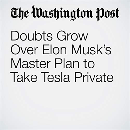 Doubts Grow Over Elon Musk's Master Plan to Take Tesla Private copertina