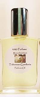 Tuberose Dry Oil Perfume Roll On Larger 1/2 oz Bottle - Refillable