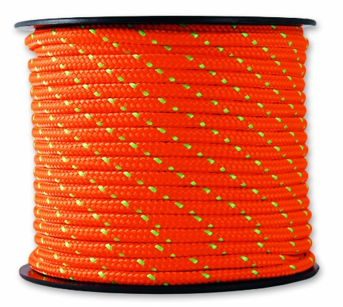 Chapuis MO325O Drisse polyester 200 kg D 3 mm L 25 m Orange/Vert