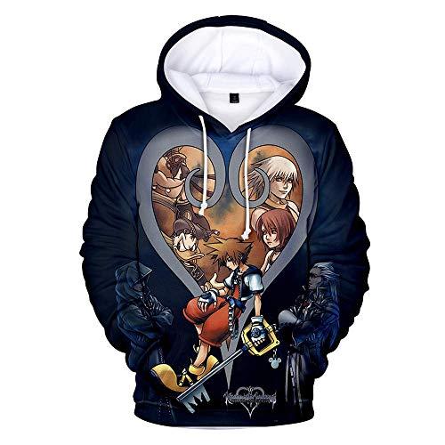 Qian Qian Unisex Sora Hoodie Sweater Kapuzenpullover Halloween Cosplay Kostüm Zip Hoodie Jacke (XXL, Schwarz 7)