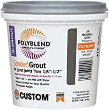 Custom BLDG Products PBG3821-4 Bone Sanded Grout