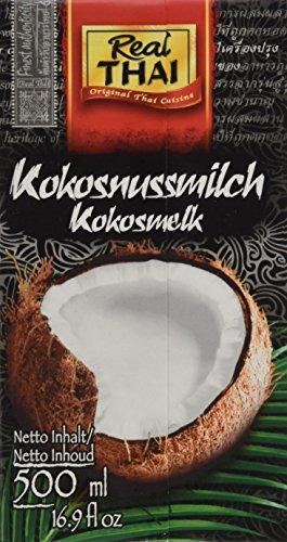 Real THAI Kokosmilch, 12er Pack (12 x 500 ml)