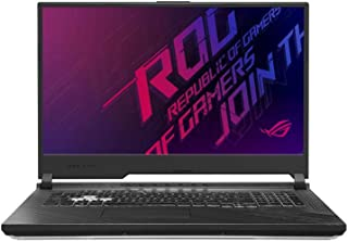Asus ROG STRIX G712LWS-EV031T-STRIX G Gaming Laptop (Orignal Black) - Intel i7-10750H 2.6 GHz, 16 GB RAM,1TB, Nvidia GeForce RTX 2070 SUPER, 17.3 inches, Windows 10,Eng-Arb-KB