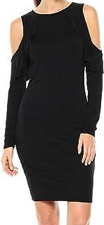 فستان ضيق متوسط الحجم من الجيرسيه المحسّن ثلاث نقاط