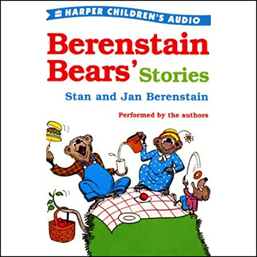 Berenstain Bears' Stories audiobook cover art