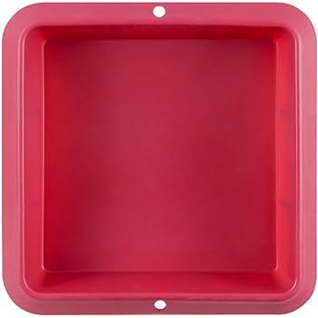 280 x 220 h 40 mm Color Terracota SFT300 Molde de Silicona Rectangular