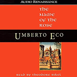 The Name of the Rose audiobook cover art