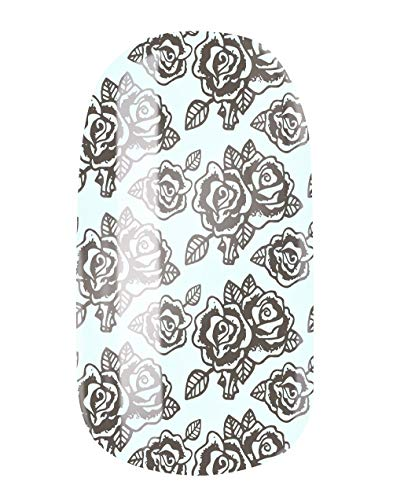 VENGANAILS nagelfolie - Roses for Eleanor, high performance nagelwraps, zelfklevend, duurzaam, geen import uit China