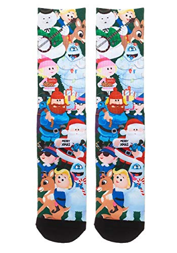 Rudolph the Red-Nosed Reindeer Sublimated Socks Standard