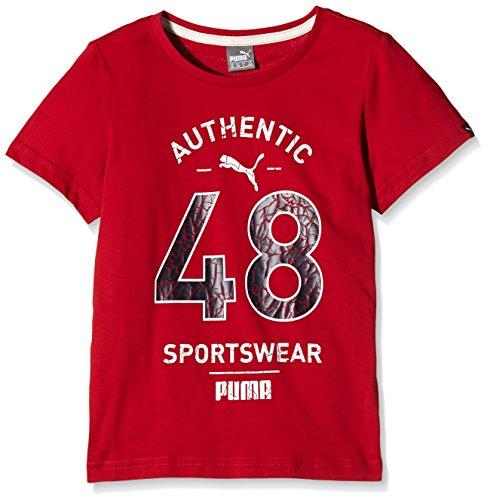 PUMA Camiseta de Style Athletic té 2, niño, T-Shirt Style Athletic tee 2, Scooter, 116