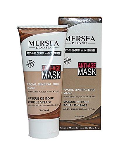 MERSEA Mar Muerto - Máscara de fango mineral con Vitamina E y Avokado - aceite, 125ml - Altamente eficaz Premium Cosmético - Direkt de Israel de Mar Muerto