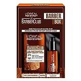 L'Oréal Men Expert Bartpflege Set mit Bartöl und Bartshampoo, Barber Club Herren Bartpflege Geschenkset, 1 x 230 ml
