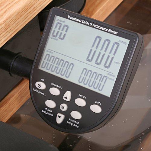 Water Rower S4 Rudergerät Trainingscomputer
