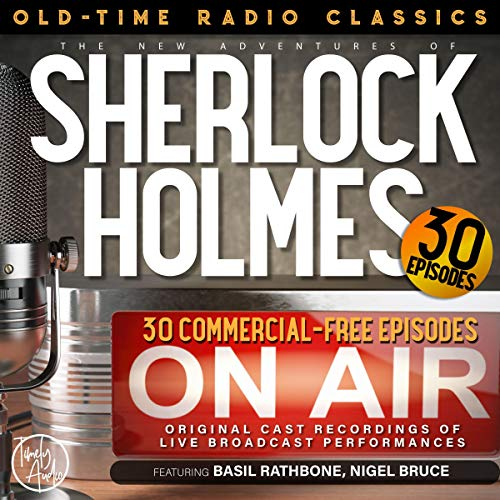 The New Adventures of Sherlock Holmes, 30-Episode Collection cover art