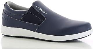 Oxypas Roy SRC - Scarpe da lavoro, senza lacci, colore: blu navy, taglia 42