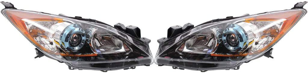 For Mazda 3 Headlight Assembly Award 2012 and Limited time sale Pair Passeng Driver 2013
