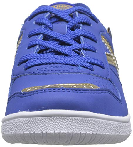Munich Continental Kid V2 05, Zapatillas de Deporte Niño, Azul (Azul/Dorado 005), 35 EU