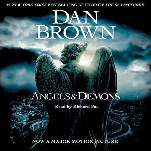 Angels and Demons audiobook cover art